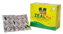 Vasu Pharma Zeal Plus Ayurvedic Cough Lozenges - 5x4Lozenges