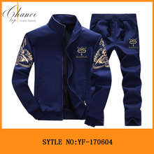 2017 Men Autumn Wholesale fashion <strong>Sports</strong> Wear Sets