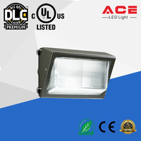 Full cut-off UL DLC listed 28w Led Outdoor Wall Pack Lights with 5 years warranty