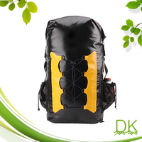 roll top waterproof PVC tarpaulin super dry rucksack backpack 70l camping