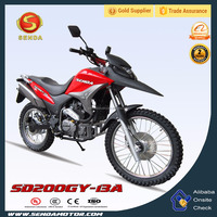 Chinese 200CC Powerful Dirt Bike Sport Motorcycle SD200GY-13A