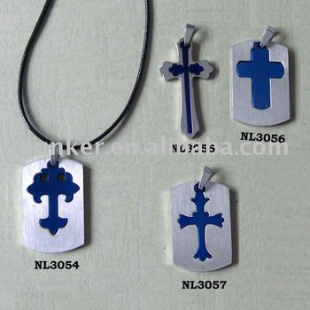 New Arrival ! Separable Cross 316L stainless steel jewelry
