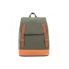 1BP0219 Wholesale Fashion High Quality Cotton Canvas Students School Bags Durable Teens Backpack