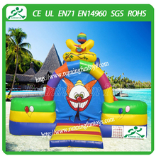 New inflatable amusement park, inflatable clown fun city for commercial rental