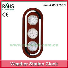 Woodpecker wall clock room thermometer hygrometer price cheap