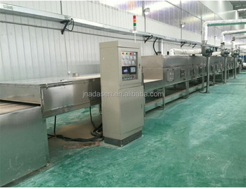 China supplier industrial microwave drying machine for aluminum oxide