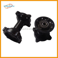 High quality black motorcycle drum brake front hub is chinese made
