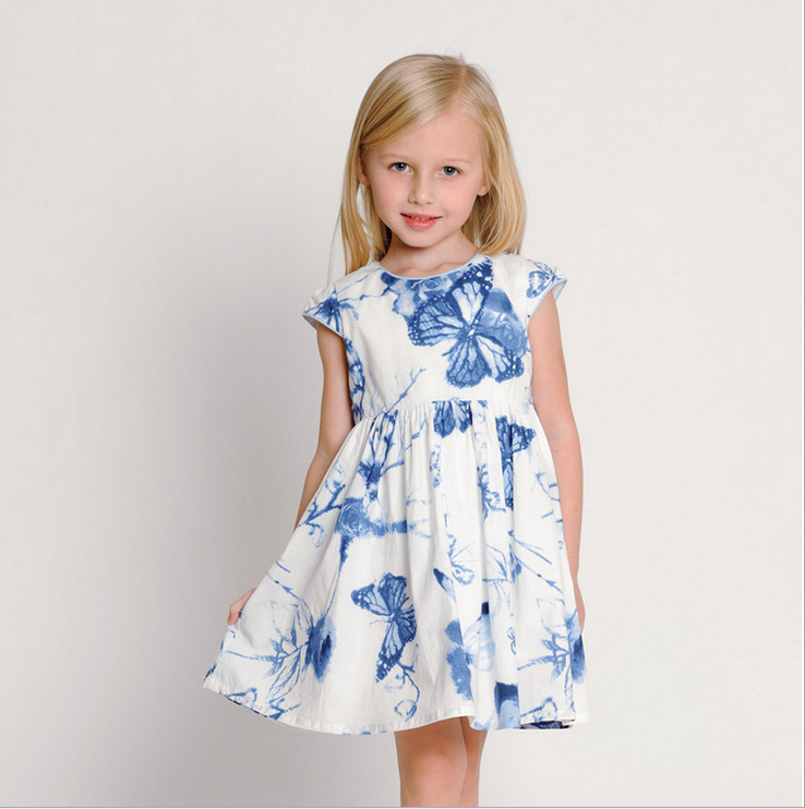 Fresh style club dresses cloth children frocks designs for lovely kids girl