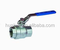 Stainless steel 1/4 inch to 6 inch ball valve