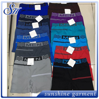 Stocklots multi colors basic mens underwear for promotion
