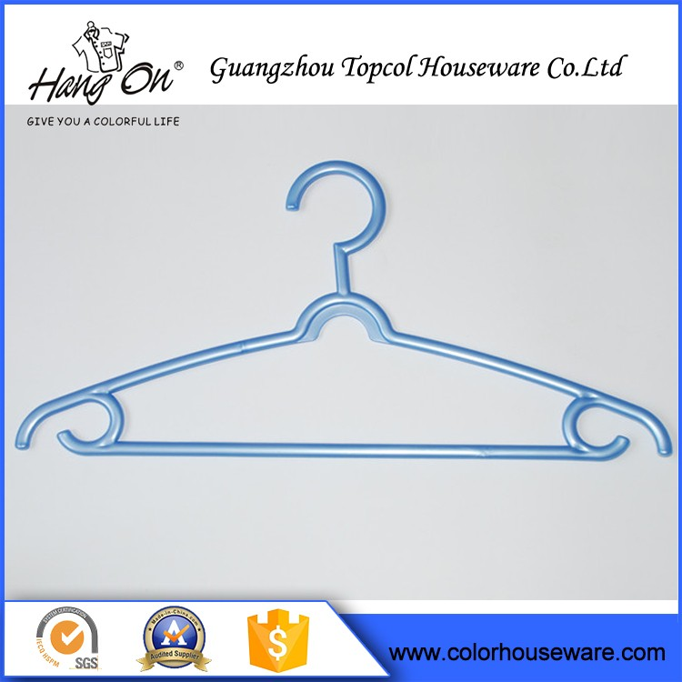 Small Plastic Hanger For Pants , Plastic Hanger For Top