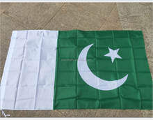 Professional 90*150cm wholesale polyester Pakistan national flag