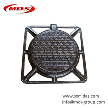 EN124 Standard Double Sealed Ductile Iron Manhole Cover Mould Size