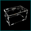 rectangle transparent acrylic box for spider