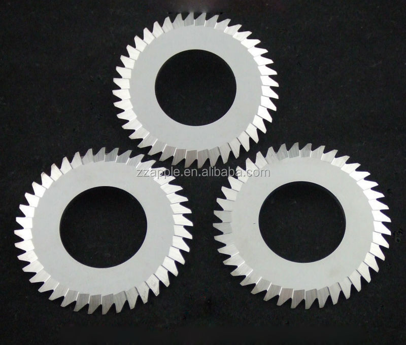 solid tungsten carbide circular slitting saw blade for cutting stainless steel