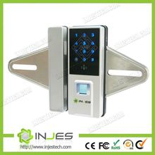 Digital Keypad Code Door Entry Lock Fingerprint Slide Reader