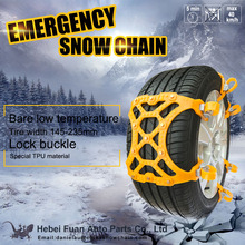 TPU rubber plastic snow tire chains