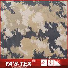 popular design 92% polyester 8% spandex camouflage printed fabric for swimming suit