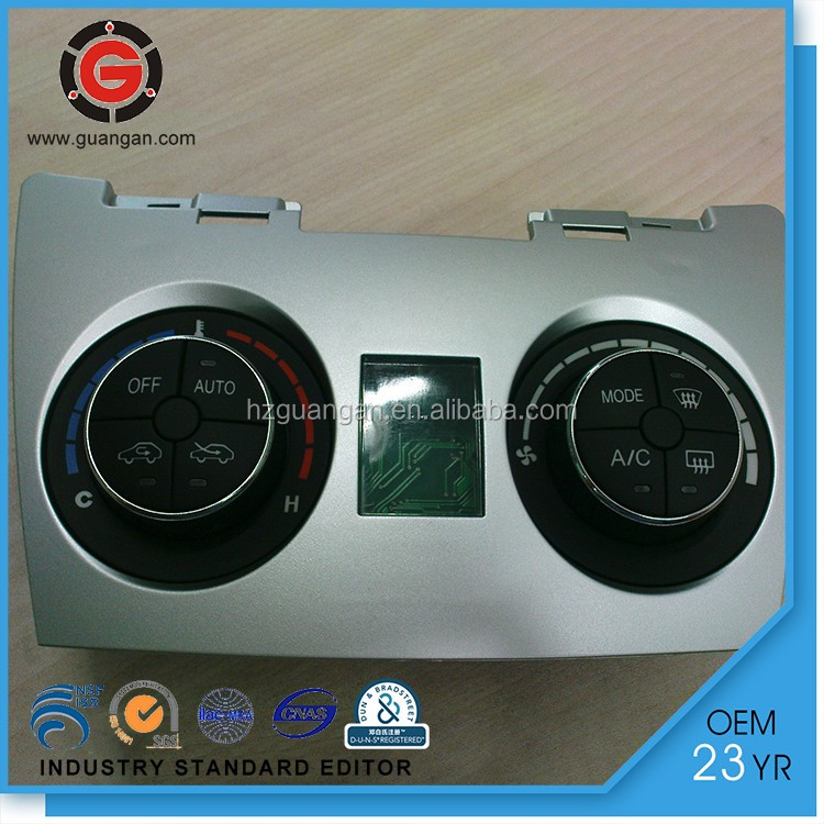 12V digital smart touch HVAC control panel shower for ACP014
