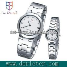 2013 attractive trendy wrist watches for lovers Quartz movement alloy shell alloy belt Quartz watch