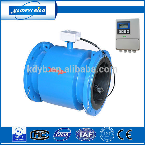 China ISO9001 manufacture electromagnetic water flow rate sensor