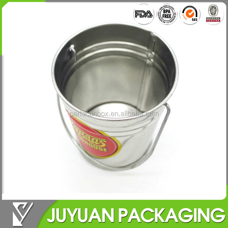 hot sale small mini tinplate tin bucket with cheap price