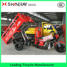 shineray gas powered adult cargo tricycle 3 wheel truck for sale
