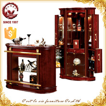 Furniture Design Cheap Furniture Movable Small Wood Home Bar Counter For Sale