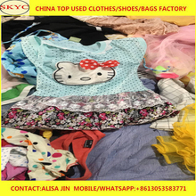 Fashion styles lot of used clothes Original children used clothing from USA/UK/ITALY second hand clothes exporters