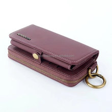 Universal PU Leather Wallet Case Men Female Women Business Vintage Credit Card Holder Phone Bag Case For iPhone5 5S 6 6S 7