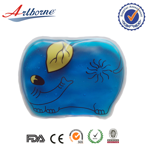 Cheap animal shape cute portable multifunctional comfort blue ice packs