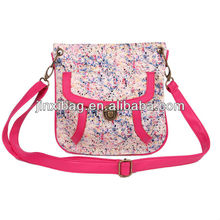 2013 New arrival & best selling bag designer with small broken flowers