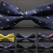 Hot Sale Cheap High Quality Custom Self Tie Bow ties Neck Tie