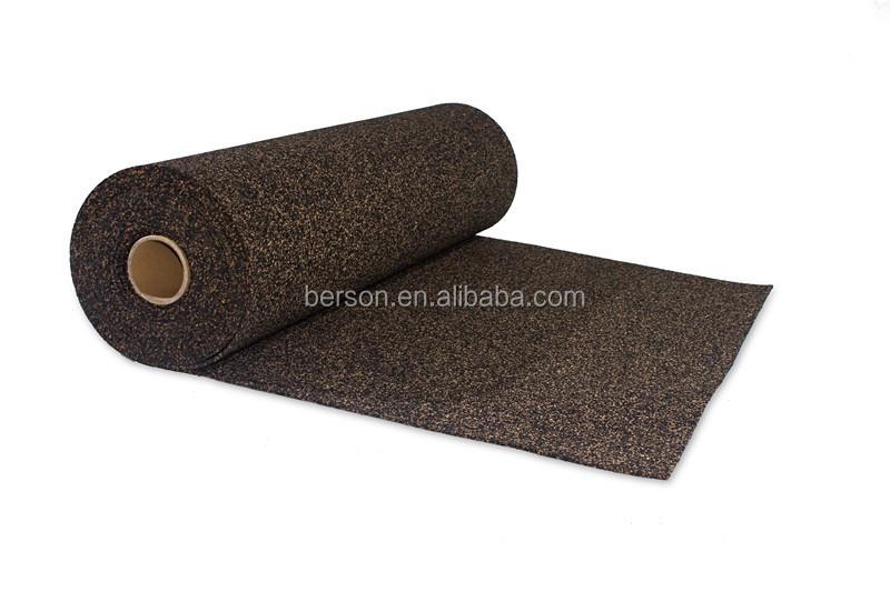Rubber Water Barrier : High density rubber moisture barrier flooring underlay