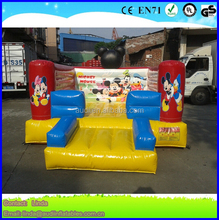Inflatable Mini Bouncer With Cartoon Drawing