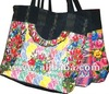 Tote bag with huipil