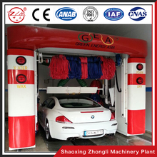 5 Brushes Automatic Car Wash Equipment With Mobile Dryer System