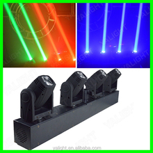 4 head 4pcs * 10W IP33 RGBW high quality factory direct sell led moving head beam light