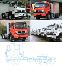 2015 best seller supply Sinotruk HOWO prime move price