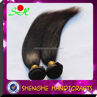 Wholesale 100% Human Hair 20 Inch Nature Color Unprocessed Peruvian Hair Straight