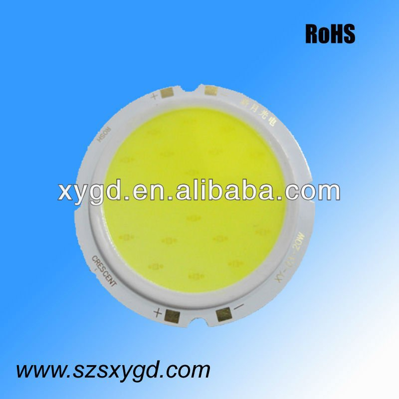15w Cob single led light source 1200-1400lm with Epistar