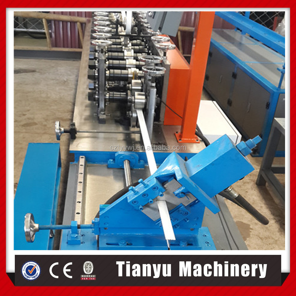 Alibaba machinery ligh keel T bar frame making roll forming machine