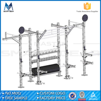 MSG Gym 11 Guage Steel Wall Mounted Crossfit Rig Monkey Mount Rig