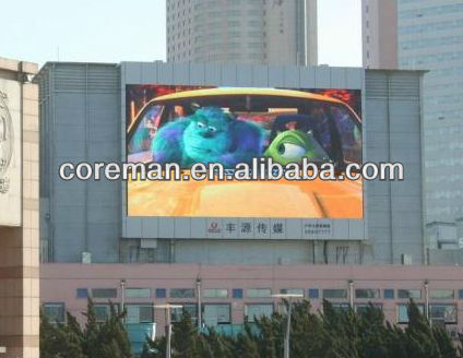 alibaba france 16X16,16X8 dip,smd rgb p16,p20 clear video wireless led number display