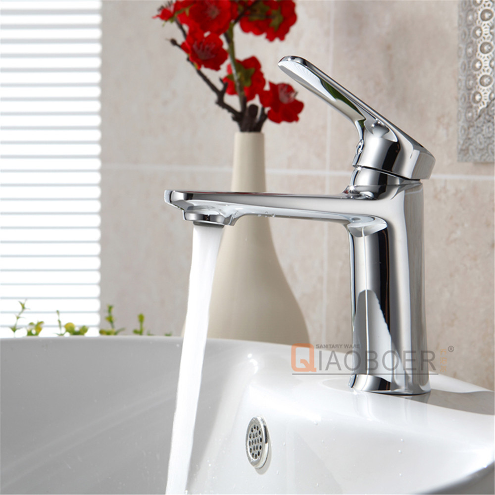 High quality chrome brass bathroom vessel faucets best basin taps