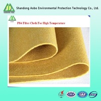 Polyimide (PI/P84) filter felt with PTFE membrane