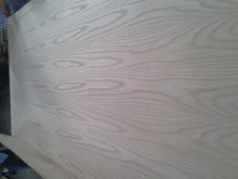 Lowest Price Red oak face wood/Red oak veneer fancy plywood indoos /Red oak