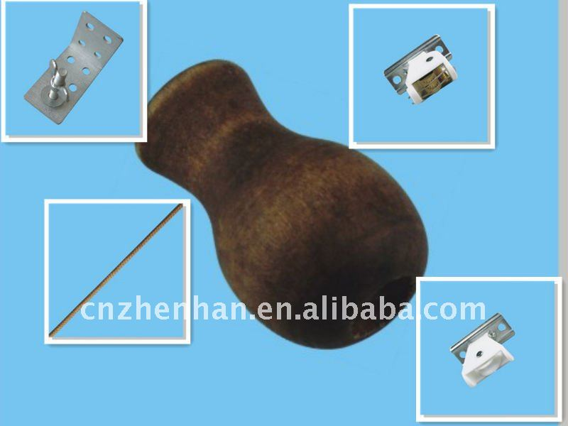 Bamboo blind cord lock and pulley set,bamboo blind components,curtain accessories,bamboo blind parts,bamboo blind fittings