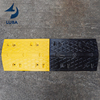 Factory Price Black-yellow Road Curb Ramps Rubber Hydraulic Speed Hump Cushions