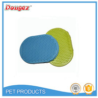 2015 New Rubber Pet Grooming Brush Clean-up Dog Cat Hot Sale